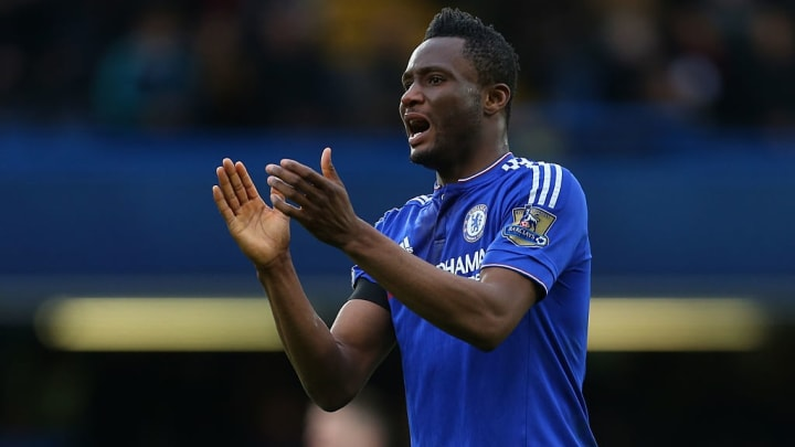 Chelsea John Obi Mikel Manchester United Premier League