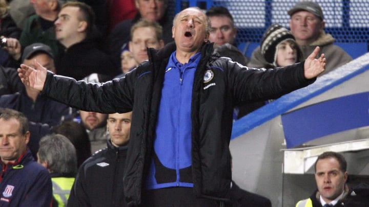 Chelsea's Brazilian manager Luiz Felipe