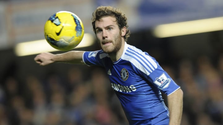 Chelsea's Spanish midfielder Juan Mata w
