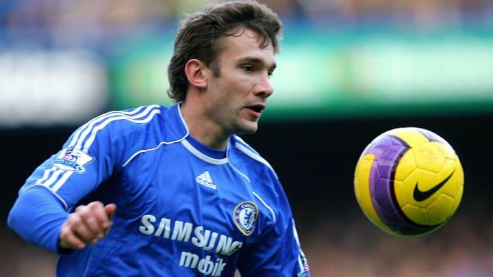 Chelsea's Ukrainian Striker Andriy Shevc