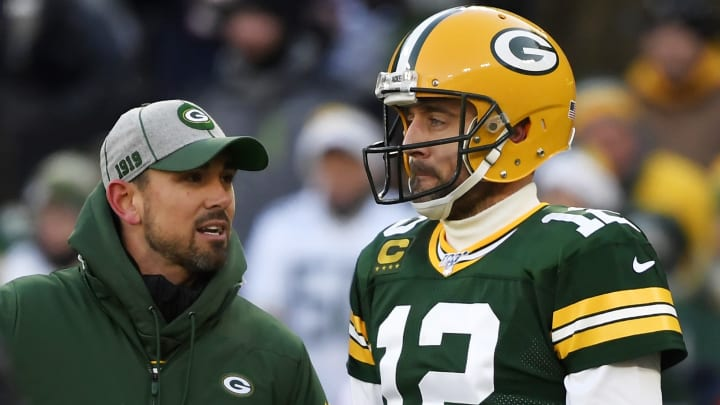 Matt LaFleur and Aaron Rodgers don't share a great relationship in Green Bay.