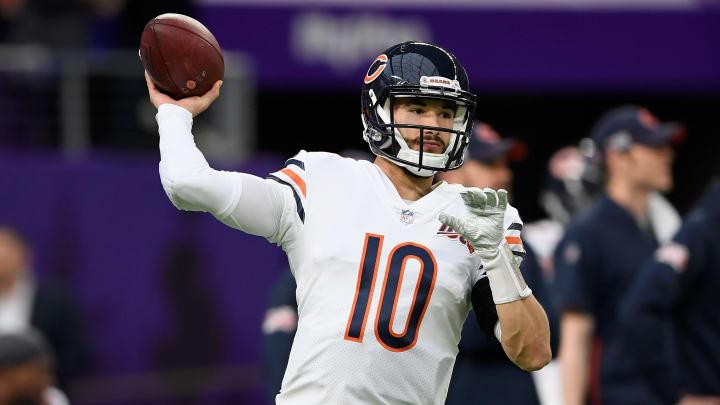 Chicago Bears quarterback Mitch Trubisky