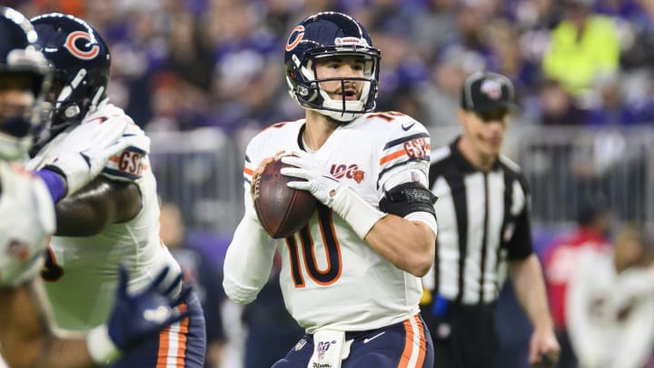 Chicago Bears QB Mitchell Trubisky was seen working out with a noted quarterback guru.