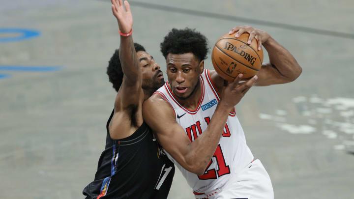 Thaddeus Young - Chicago Bulls v Brooklyn Nets