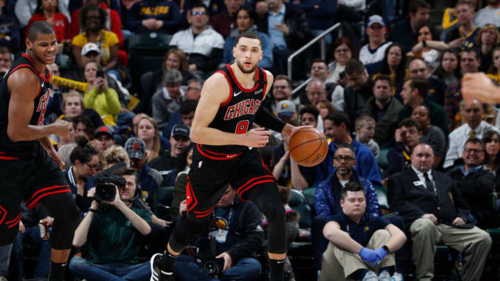 Zach LaVine has helped the Chicago Bulls fight for a playoff spot.