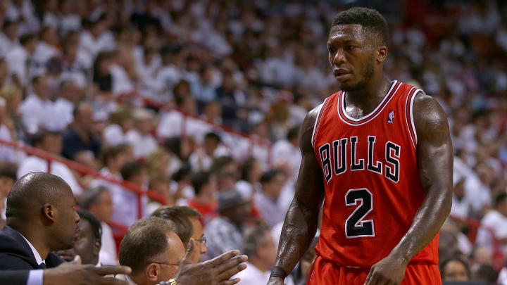 Nate Robinson's time in Chicago didn't last long but he made the most of it.