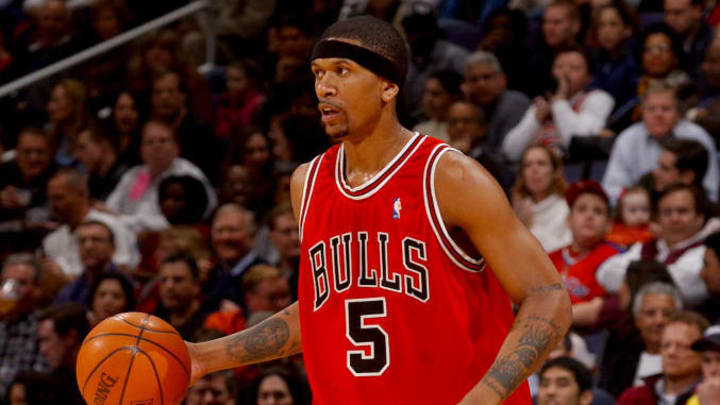 Jalen Rose during his time with the Bulls