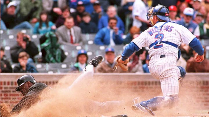Rick Wilkins was a star for the Chicago Cubs in 1993.