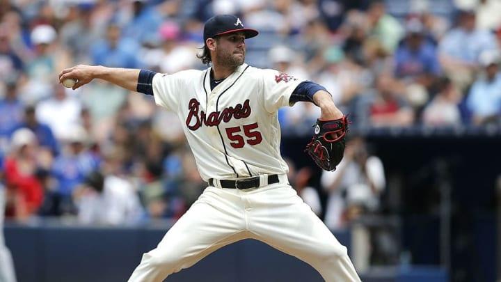 Atlanta Braves pitcher Casey Kelly