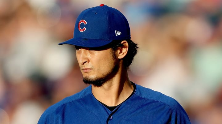 DENVER, COLORADO - JUNE 10: Starting pitcher Yu Darvish #11 of the Chicago Cubs throws in the third inning against the Colorado Rockies at Coors Field on June 10, 2019 in Denver, Colorado. (Photo by Matthew Stockman/Getty Images)