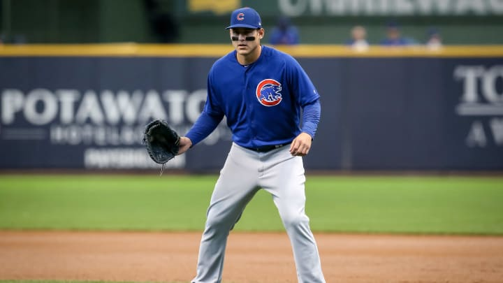 Anthony Rizzo was traded to the Chicago Cubs in 2012.