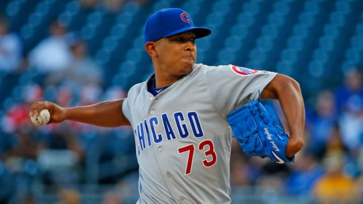 Chicago Cubs righty Adbert Alzolay