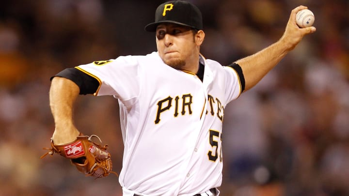 Former Pittsburgh Pirates left-hander Daniel Moskos