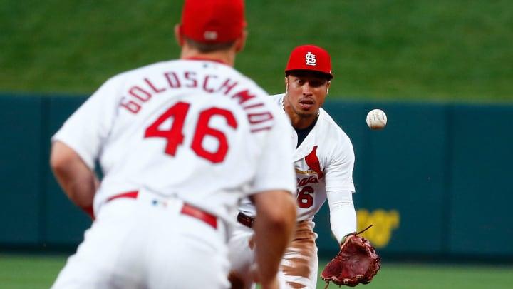 St Louis Cardinals stars Kolten Wong and Paul Goldschmidt