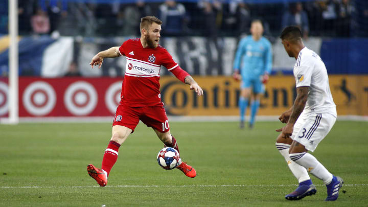 Aleksandar Katai has been released by the LA Galaxy after his wife made racist comments on Instagram.