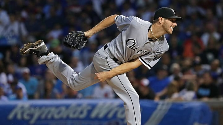 Chris Sale against his former cross-town rival Chicago Cubs.