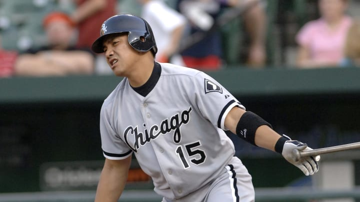 Chicago White Sox second baseman Tadahito Iguchi