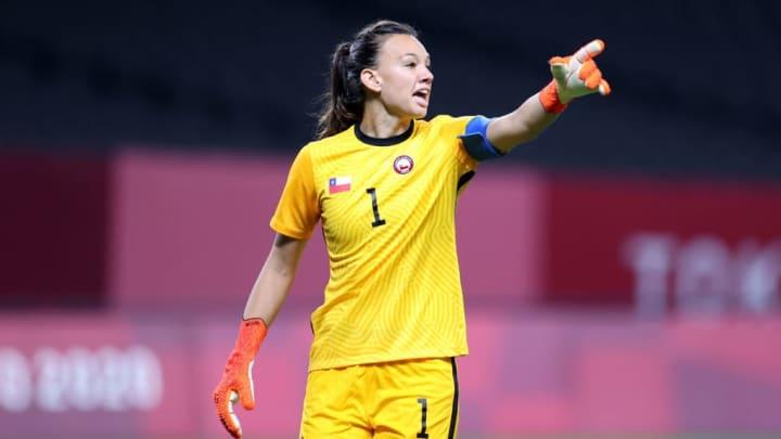 Christiane Endler Lyon Champions League Chile