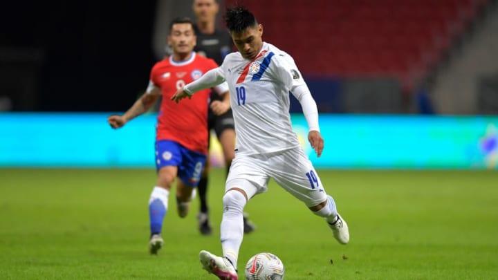 Santiago Arzamendia Paraguai Copa América