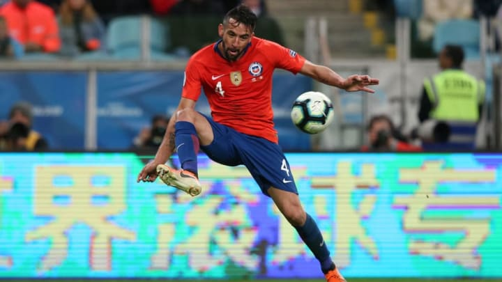 Mauricio Isla Danilo Chile Copa América