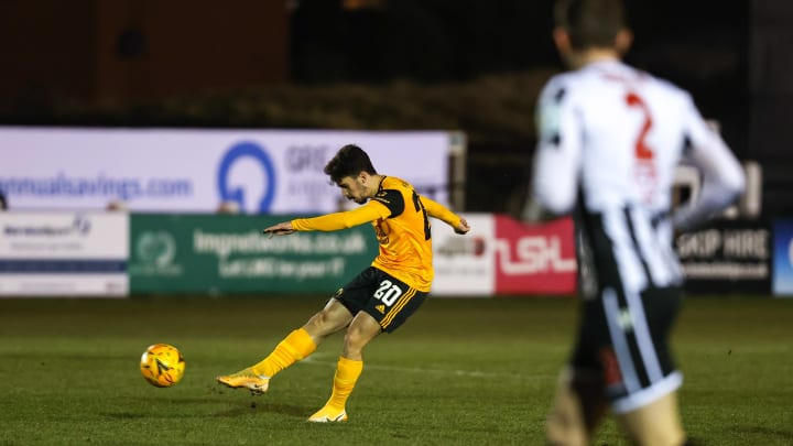 Vitor Ferreira in action against Chorley
