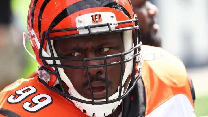 Cleveland Browns defensive tackle Andrew Billings as a member of the Cincinnati Bengals