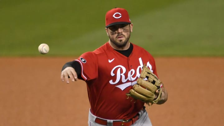 The Reds got some unfortunate news as Mike Moustakas' injury rehab assignment hit a snag on Tuesday.
