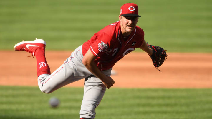Trevor Bauer pitches for the Reds, who have made significant additions this offseason.