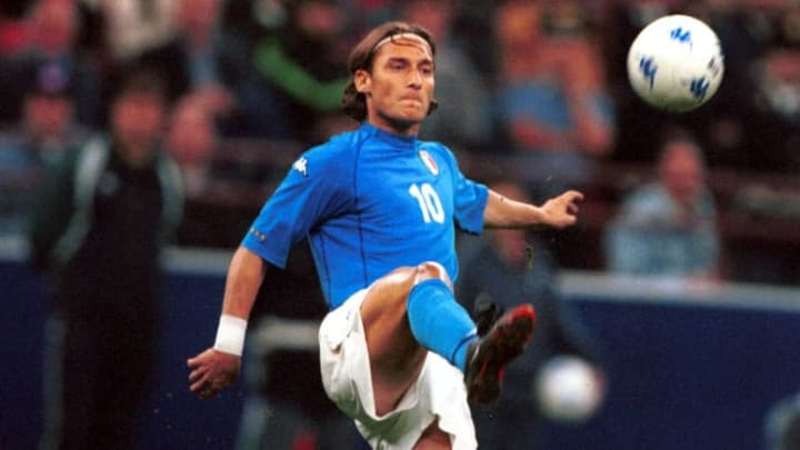 Francesco Totti, Itália