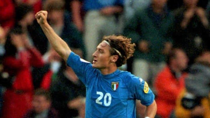 Francesco Totti at Euro 2000