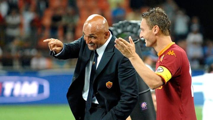 Luciano Spalletti, Francesco Totti