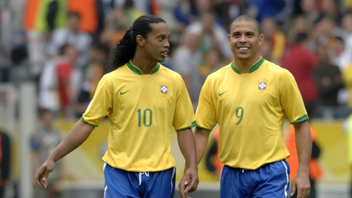 Brazil Legends Ronaldo Ronaldinho Open Up On Who Is Greater Between Lionel Messi And Cristiano Ronaldo