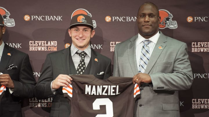 The Cleveland Browns drafted Johnny Manziel in 2014.