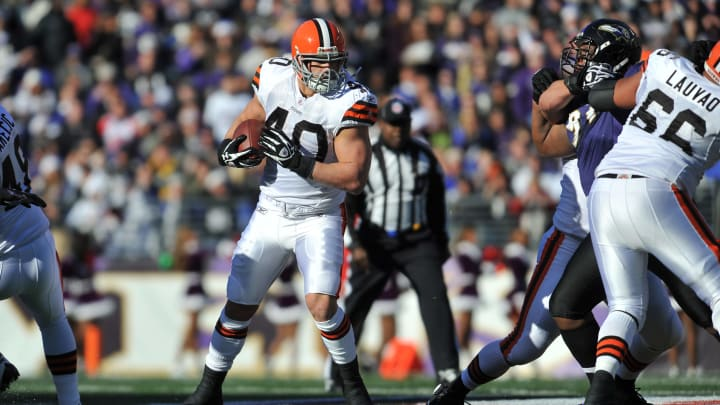 Former Cleveland Browns RB Peyton Hillis faded into obscurity after appearing on the cover.