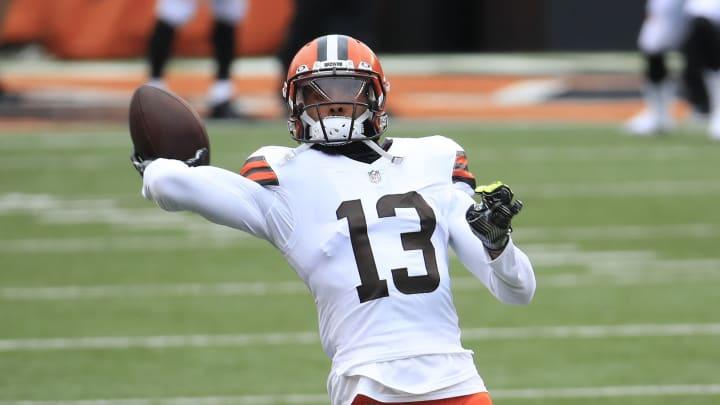 Odell Beckham Jr. confía en el éxito de sus Browns