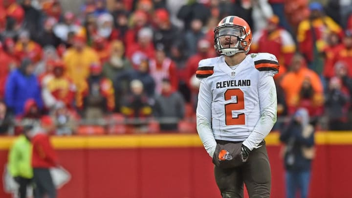 Johnny Manziel was a disaster for the Cleveland Browns.