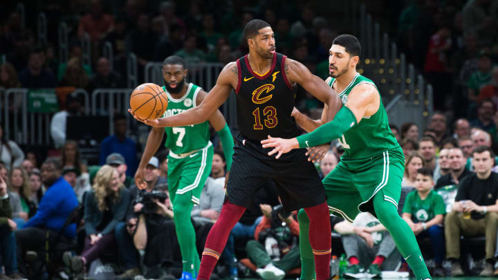 Tristan Thompson is a buyout candidate the Boston Celtics should keep an eye on
