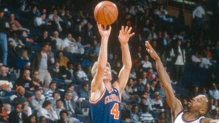 Steve Kerr's role was to stand around the 3-point line and just shoot.