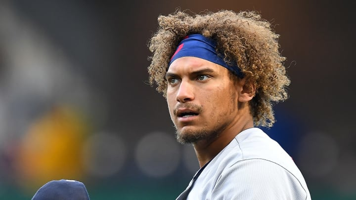 The Cleveland Indians got some bad news on Josh Naylor's injury update after a gruesome collision in Sunday's game.