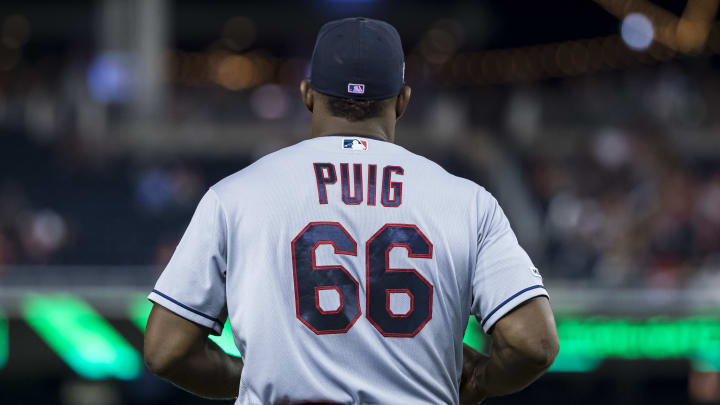 The Cleveland Indians should try to bring back Yasiel Puig.