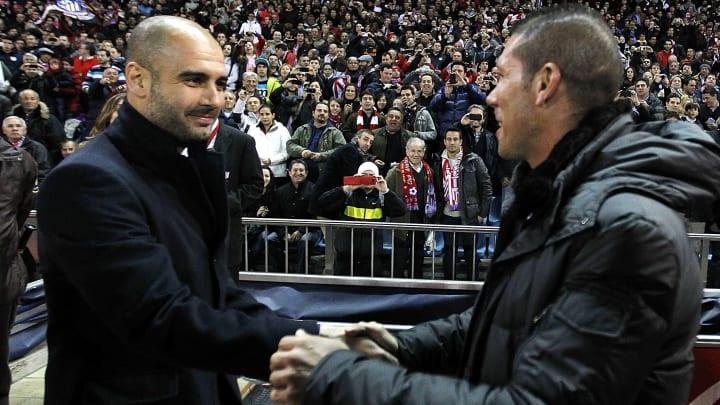 Josep Guardiola, Diego Simeone