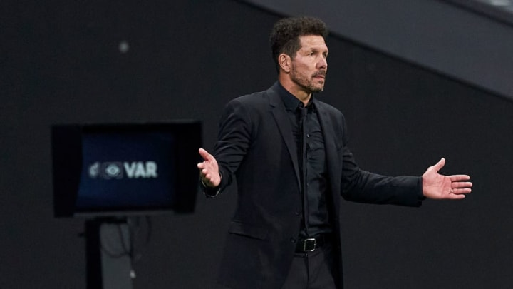 Diego Pablo Simeone, Manager of Atletico de Madrid
