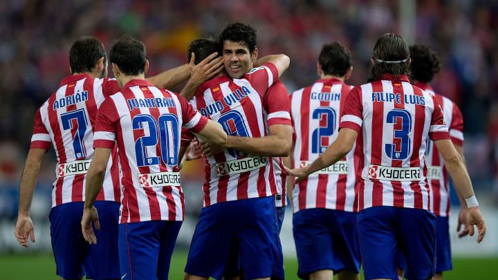 David Villa, Adrian, Diego Costa, Juanfran, Filipe Luis