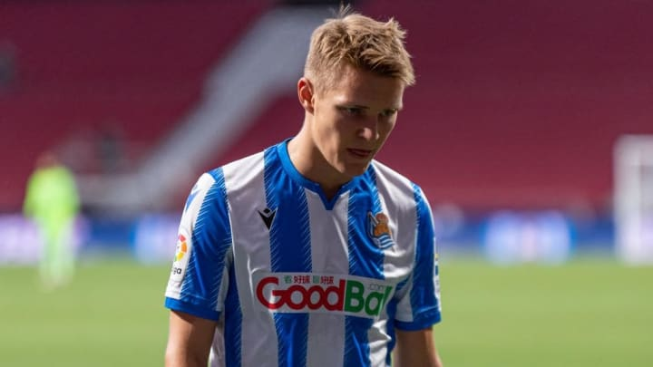 Martin Odegaard was superb for Sociedad last season