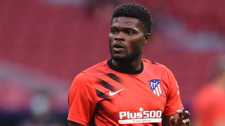 Thomas Partey joins Arsenal from Atletico Madrid for around £45m