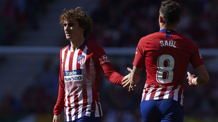 Wechseln sie ihre aktuellen Farben? Antoine Griezmann und Saúl Ñíguez (hier bei ihrer gemeinsamen Zeit in Madrid)
