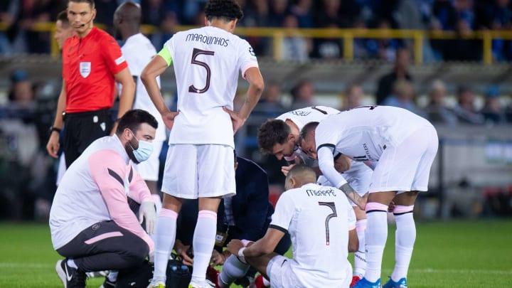 Face à Bruges, Kylian Mbappé a finalement subi un traumatisme de l'orteil.