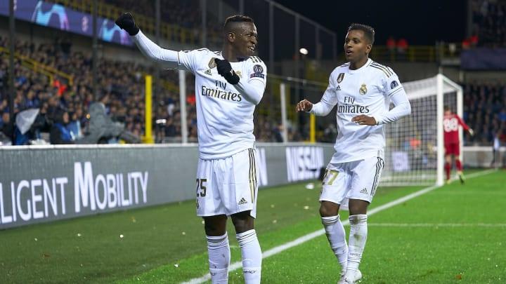 Zwei der jungen Hüpfer bei Real Madrid: Vinicius (20) und Rodrygo (19)