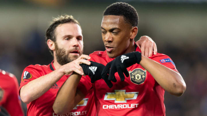 Anthony Martial, Juan Mata