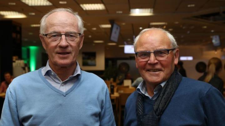 Willi Neuberger (l.) & Herbert Laumen